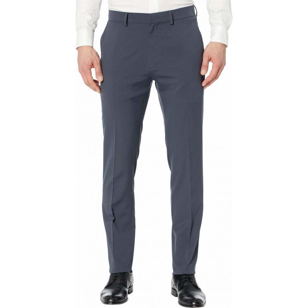ケネス コール Kenneth Cole Reaction メンズ スラックス ボトムス・パンツ【Technicole' Stretch Plain Weave Slim Fit Flat Front Flex Waistband Dress Pants】Dark Blue