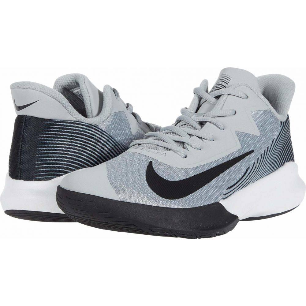 ナイキ Nike レディース バスケットボール シューズ・靴【Precision IV】Light Smoke Grey/Black/White