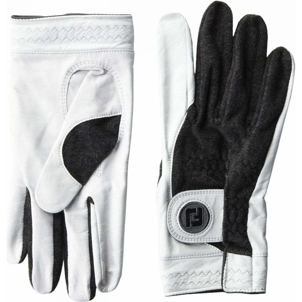 フットジョイ FootJoy メンズ ゴルフ グローブ【StaSof Winter Regular Left Golf Gloves】Pearl/Grey