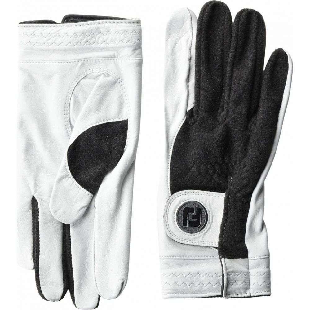 フットジョイ FootJoy メンズ ゴルフ グローブ【StaSof Winter Cadet Left Golf Gloves】Pearl/Grey