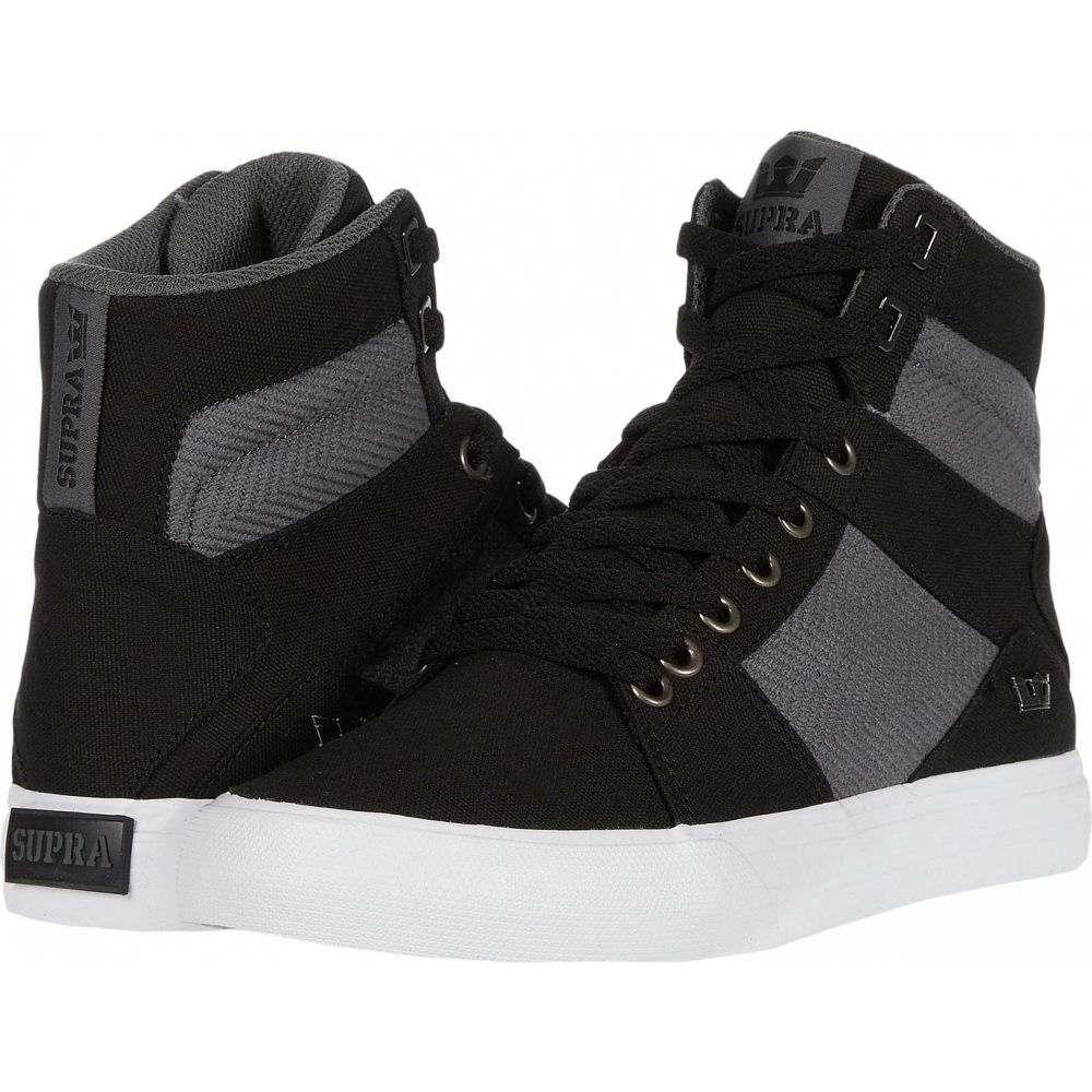 スープラ Supra メンズ シューズ・靴 【Aluminum】Black/Dark Grey/White