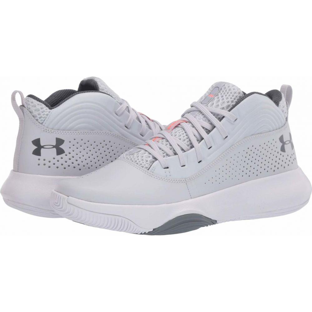 アンダーアーマー Under Armour メンズ バスケットボール シューズ・靴【Lockdown 4】Halo Gray/White/Pitch Gray