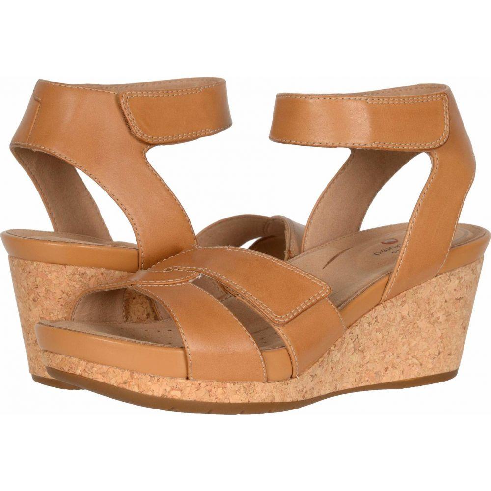 クラークス Clarks レディース シューズ・靴 【Un Capri Strap】Light Tan Leather