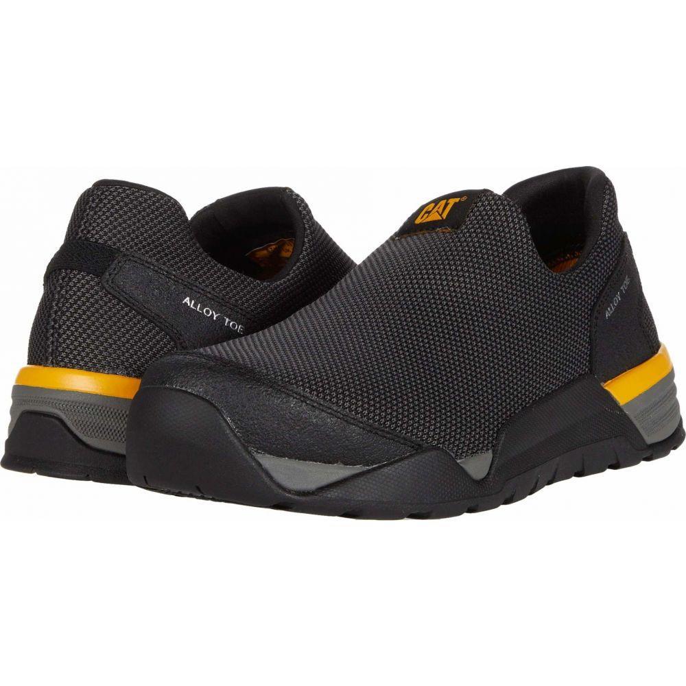 キャピタラー カジュアル Caterpillar メンズ シューズ・靴 【Sprint Mesh Moc Alloy Toe】Black
