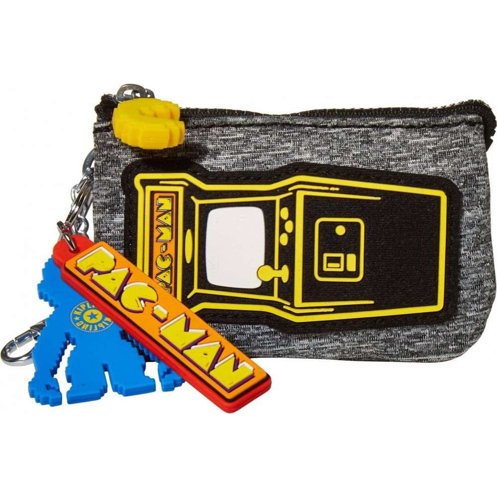 キプリング Kipling レディース 財布 キーチェーン【Pacman Mini Creatitivity Pouch Keychain】Melange Jersey