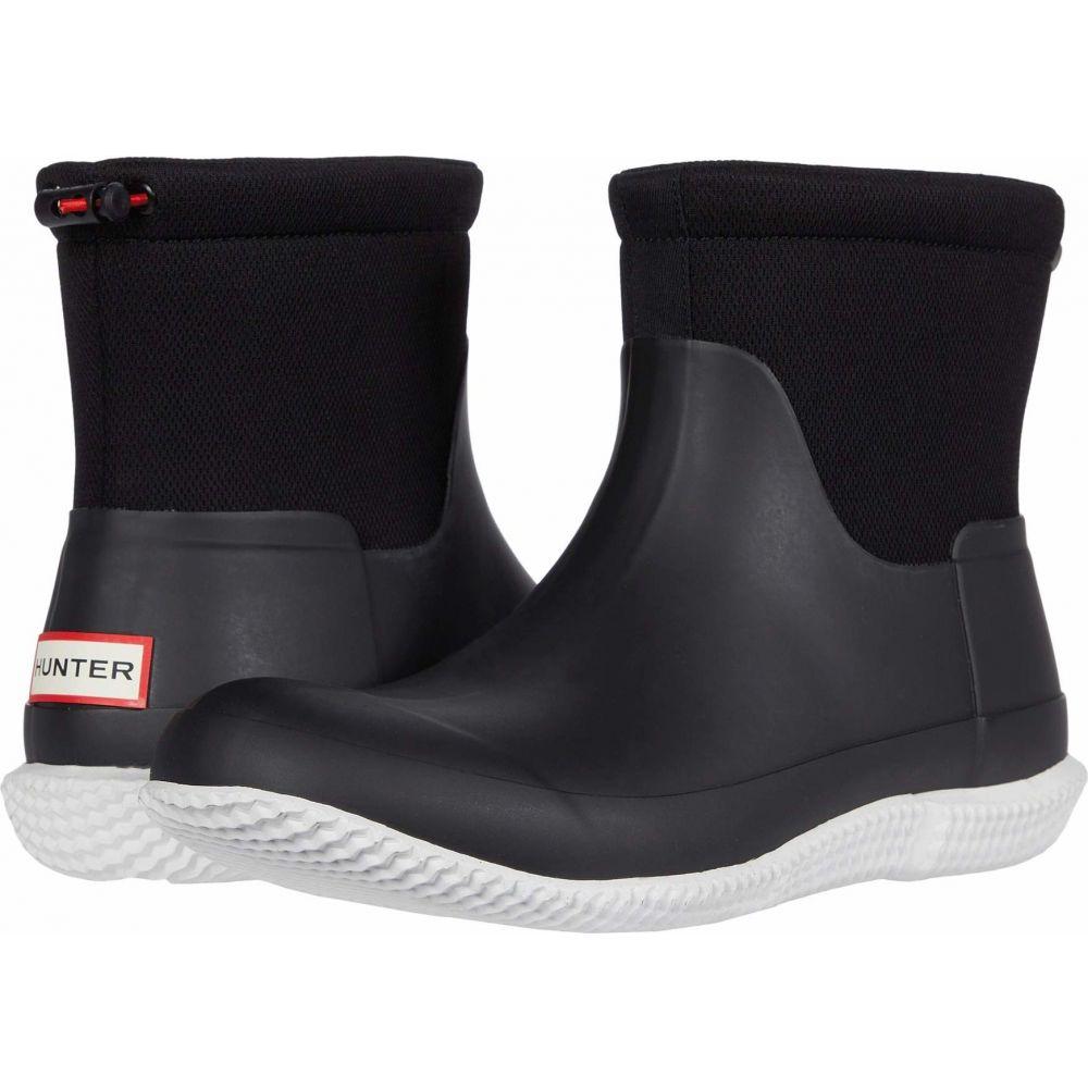 ハンター Hunter メンズ レインシューズ・長靴 シューズ・靴【Original Mesh Short Boot】Black