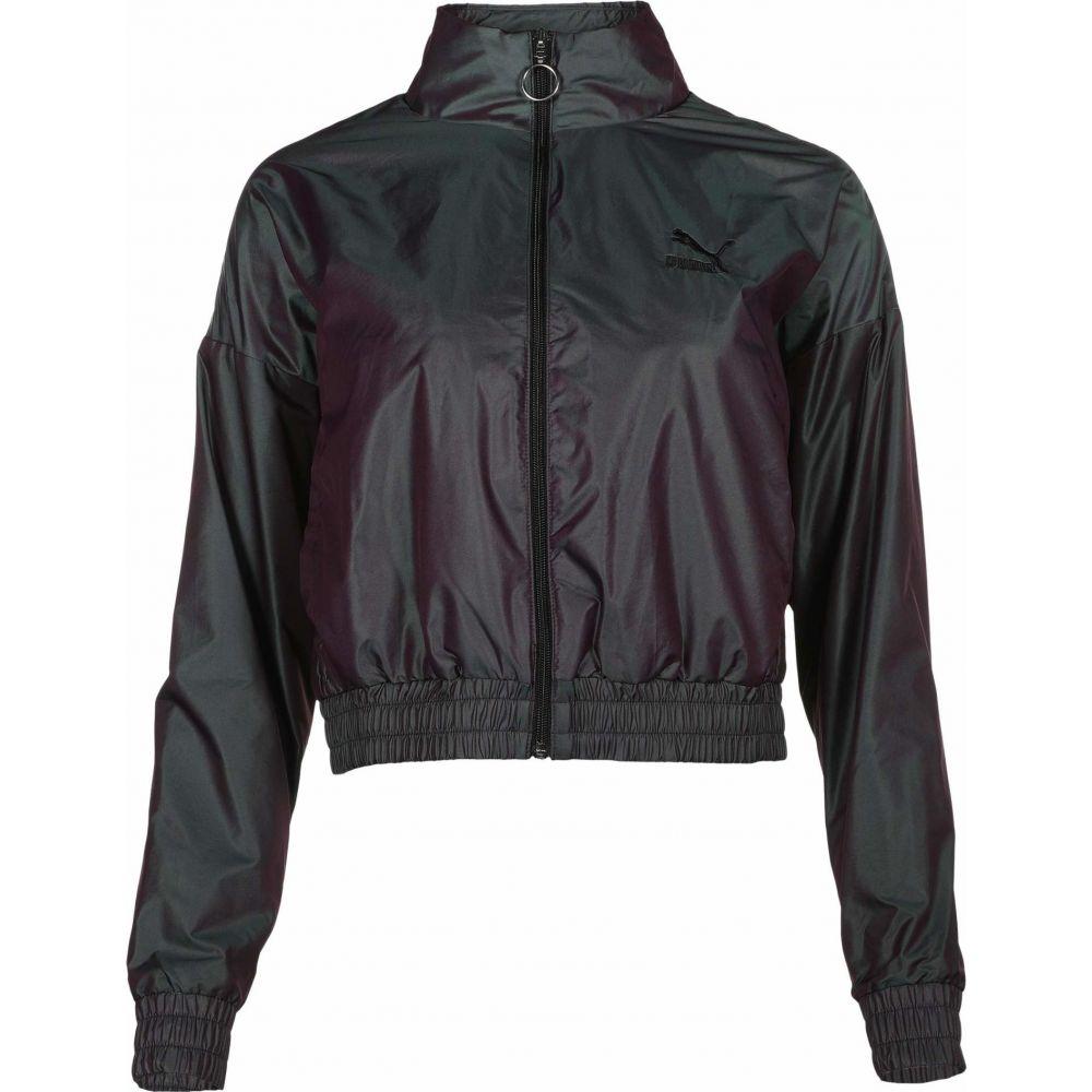 プーマ PUMA レディース ジャケット アウター【Iridescent Woven Jacket】Purple