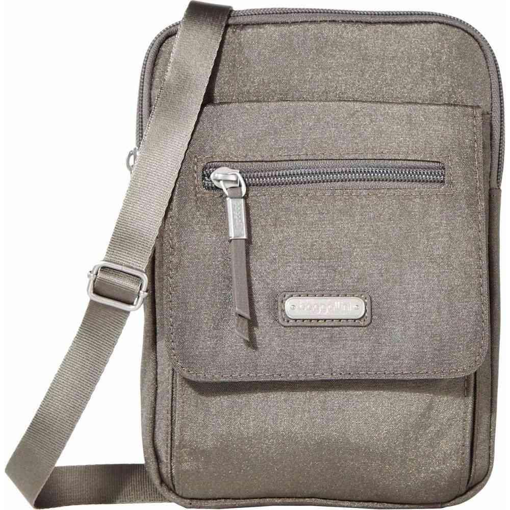 バッガリーニ Baggallini レディース ショルダーバッグ バッグ【New Classic Far and Wide RFID Crossbody Bag】Sterling Shimmer