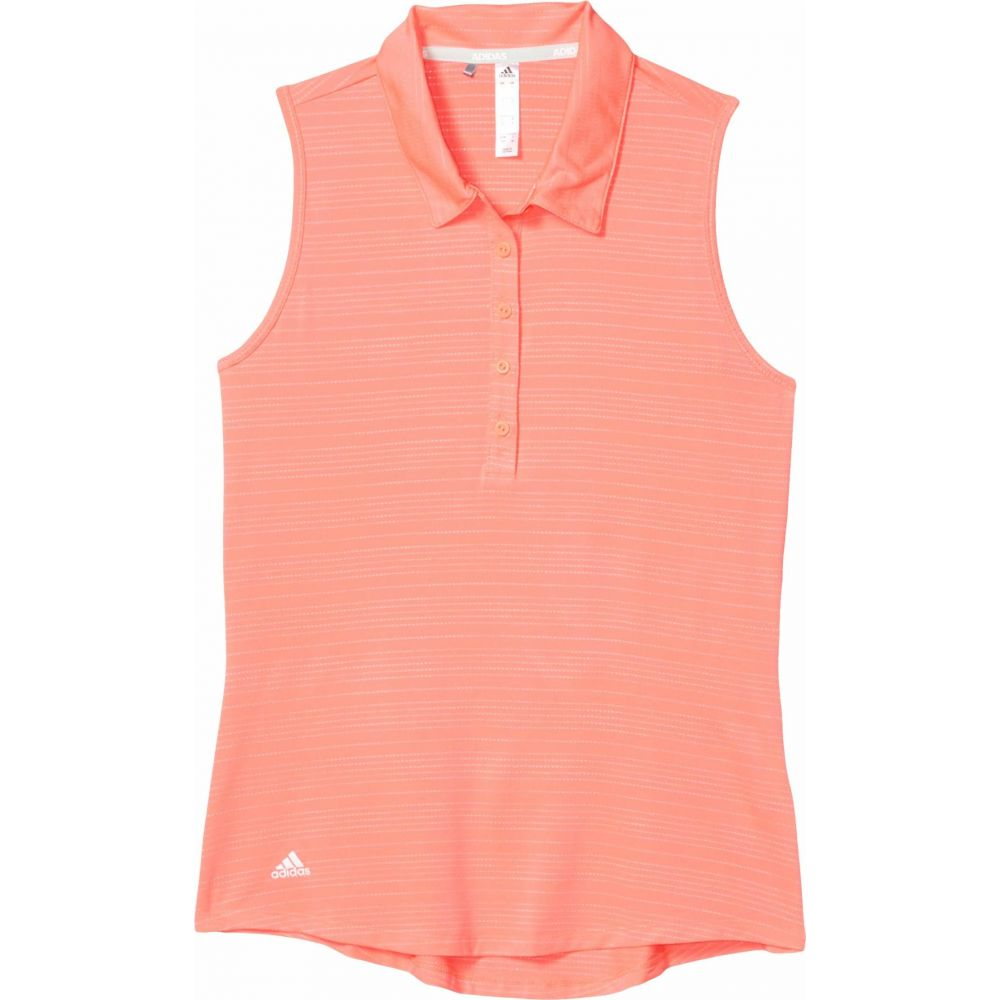 アディダス adidas Golf レディース ポロシャツ トップス【Microdot Polo Shirt】Flash Red