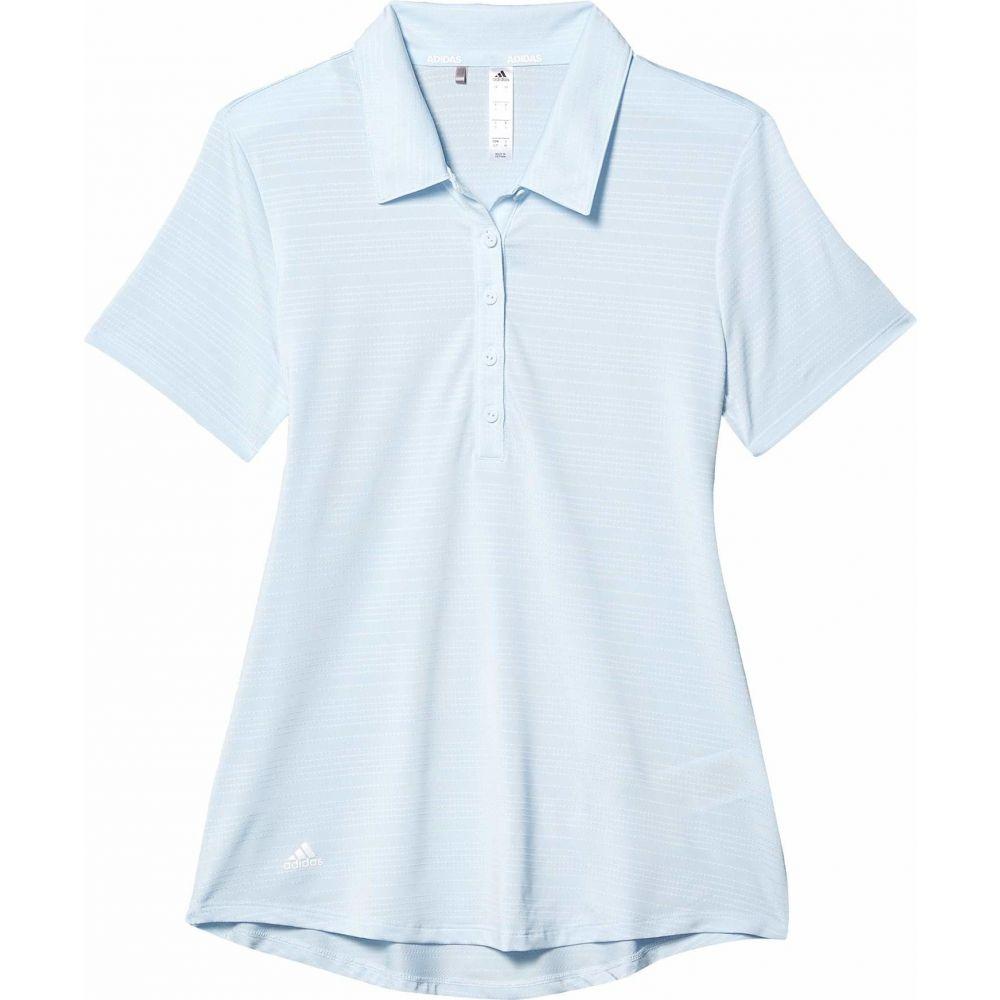 アディダス adidas Golf レディース ポロシャツ トップス【Microdot Polo Shirt】Sky Tint