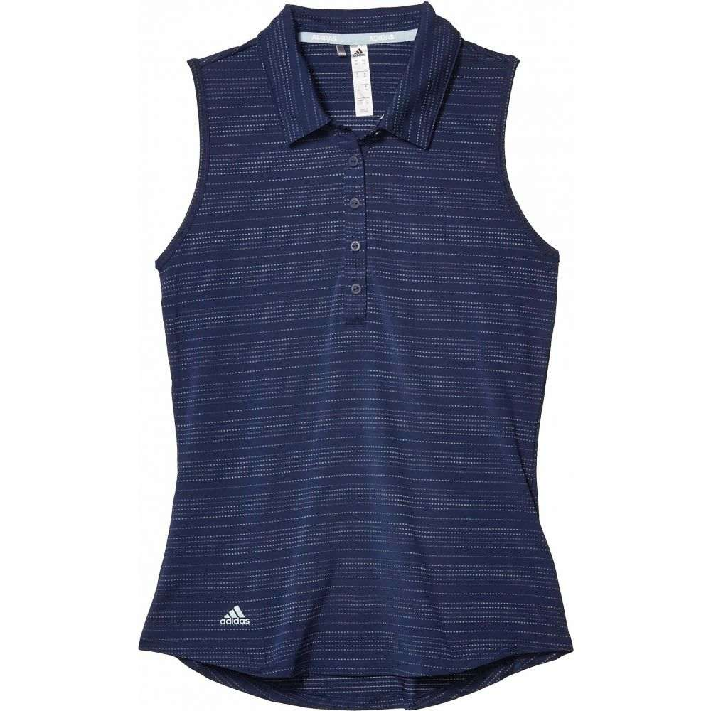 アディダス adidas Golf レディース ポロシャツ トップス【Microdot Polo Shirt】Tech Indigo