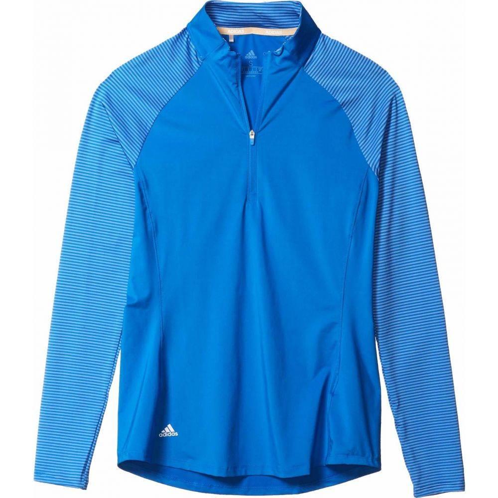 アディダス adidas Golf レディース ポロシャツ トップス【Solid UPF Polo Shirt】Glory Blue
