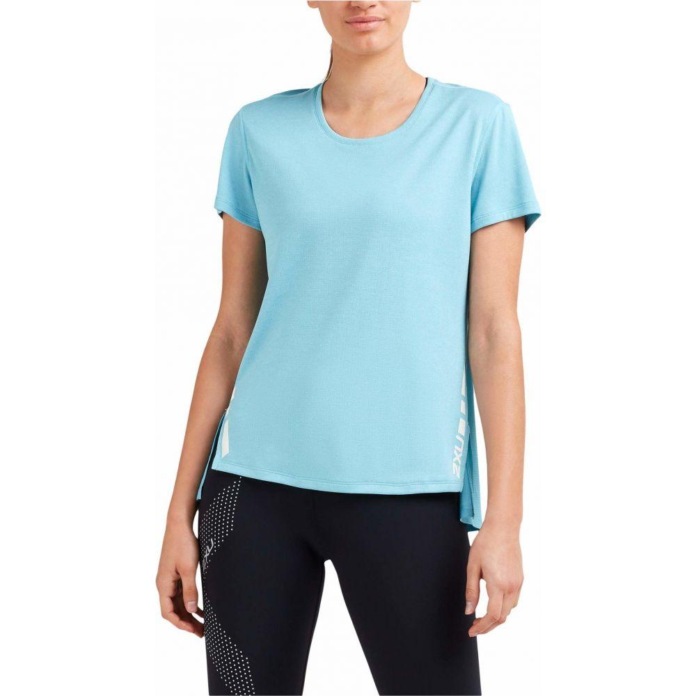 ツータイムズユー 2XU レディース Tシャツ トップス【XVENT G2 Short Sleeve Tee】Bluejay/White Reflective