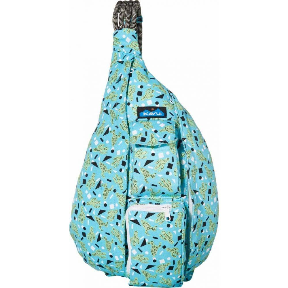 カブー KAVU レディース バックパック・リュック バッグ【Rope Bag】Cactus Confetti