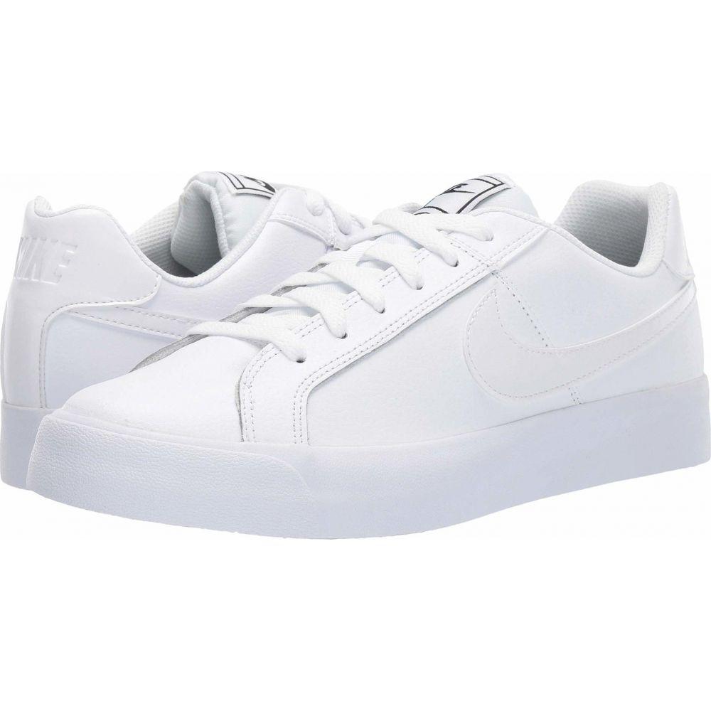 ナイキ Nike レディース スニーカー シューズ・靴【Court Royale AC】White/White/Black