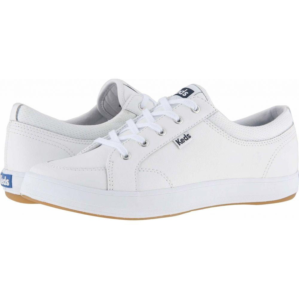 ケッズ Keds レディース スニーカー シューズ・靴【Center Leather】White