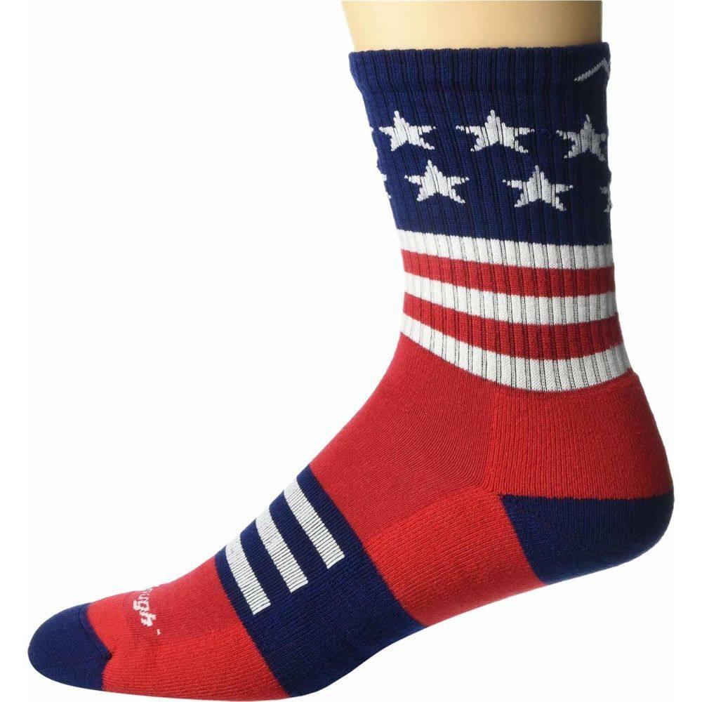 ダーンタフ メンズ ハイキング 登山 シューズ 靴 Stars and Stripes サイズ交換無料 無料 当店限定販売 Captain Stripe Lightweight Cushion Darn Vermont Micro with Tough Crew
