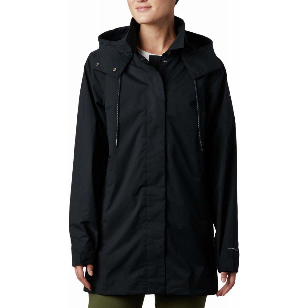 コロンビア Columbia レディース レインコート アウター【East Park(TM) Mackintosh Jacket】Black