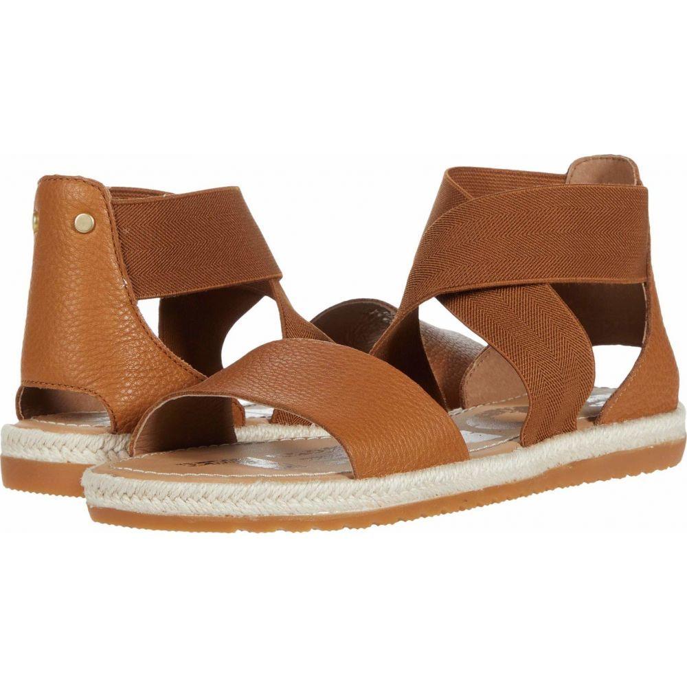 ソレル SOREL レディース サンダル・ミュール シューズ・靴【Ella(TM) Sandal Jute】Camel Brown