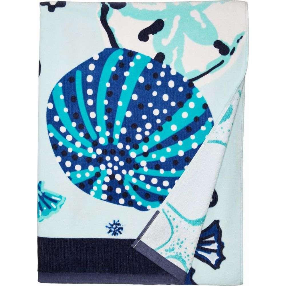 ヴェラ ブラッドリー Vera Bradley レディース ビーチタオル 水着・ビーチウェア【Double Sided Beach Towel】Mint Sea Life
