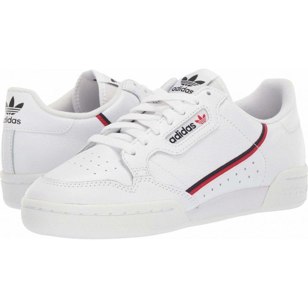 アディダス adidas Originals メンズ スニーカー シューズ・靴【Continental 80】Footwear White/Scarlet/Collegiate Navy
