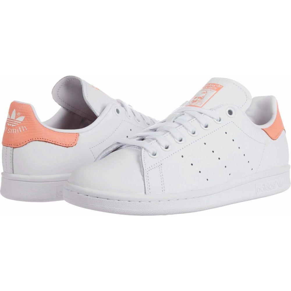 アディダス adidas Originals レディース スニーカー シューズ・靴【Stan Smith】Footwear White/Footwear White/Chalk Coral