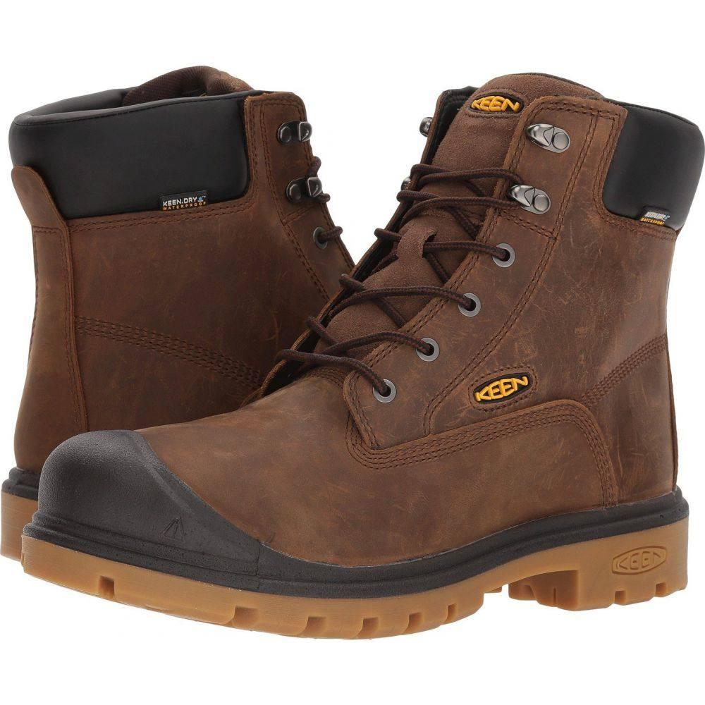 キーン Keen Utility メンズ ブーツ シューズ・靴【Baltimore 6' WP Soft Toe】Brown