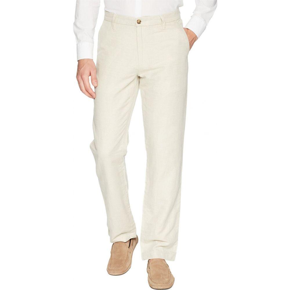 ノーティカ Nautica メンズ ボトムス・パンツ 【Classic Fit Linen Pants】Wheat Flax