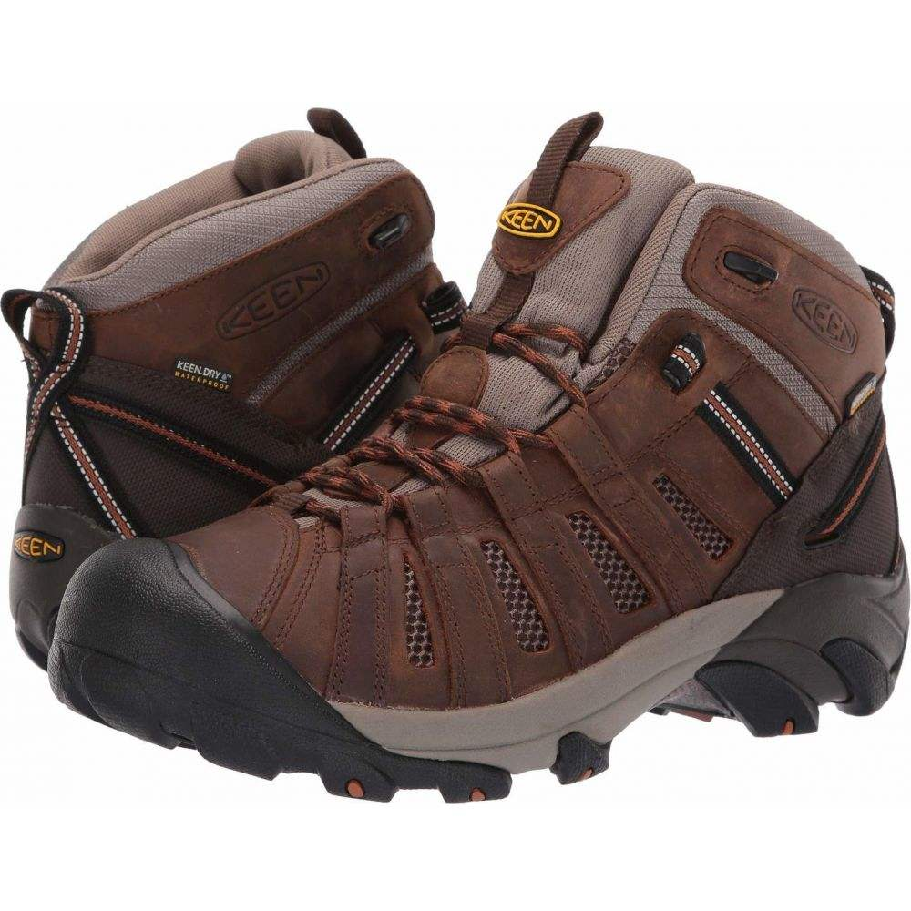 キーン Keen Utility メンズ ブーツ シューズ・靴【Cody Soft Toe Waterproof】Cascade Brown/Caramel