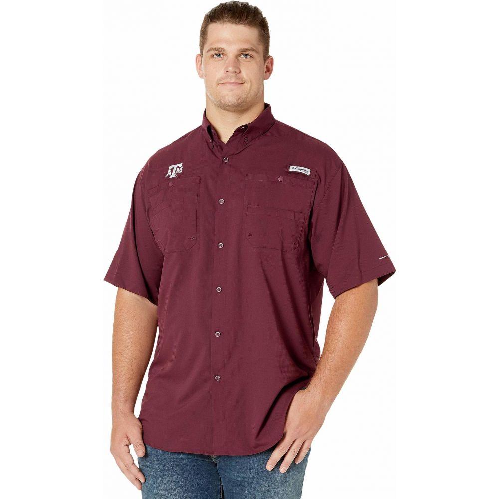 コロンビア Columbia College メンズ 半袖シャツ 大きいサイズ トップス【Big & Tall Texas A&M Aggies Collegiate Tamiami(TM) II Short Sleeve Shirt】Maroon