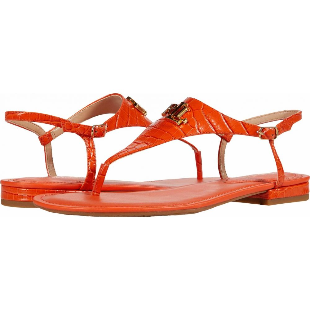 ラルフ ローレン LAUREN Ralph Lauren レディース サンダル・ミュール シューズ・靴【Ellington】Orange