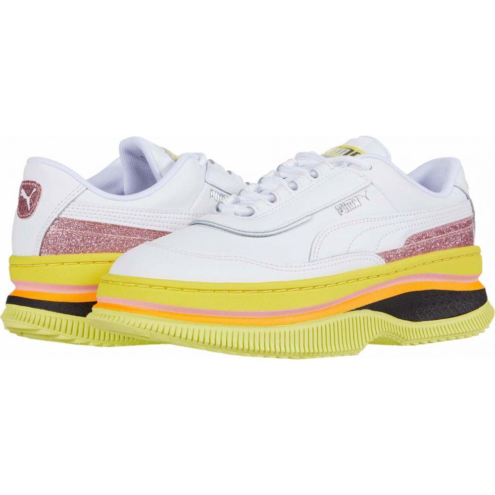 プーマ PUMA レディース スニーカー シューズ・靴【Deva 90's POP】Puma White/Meadowlark