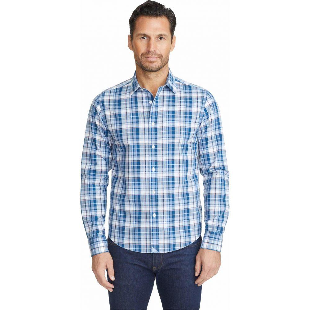 アンタックイット UNTUCKit メンズ シャツ トップス【Wrinkle-Free Terrantez Shirt】Blue