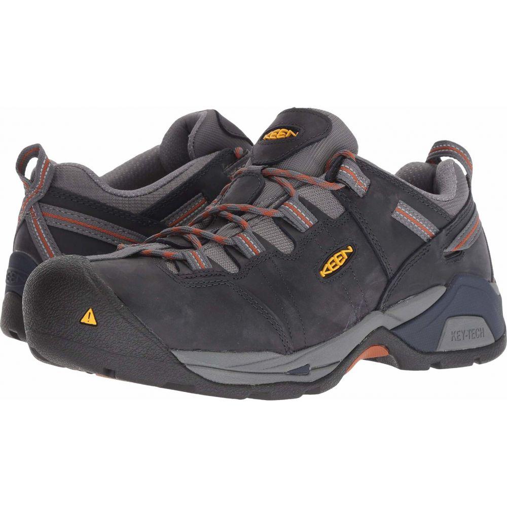 キーン Keen Utility メンズ シューズ・靴 【Detroit XT Steel Toe】Navy Peacoat/Leather Brown