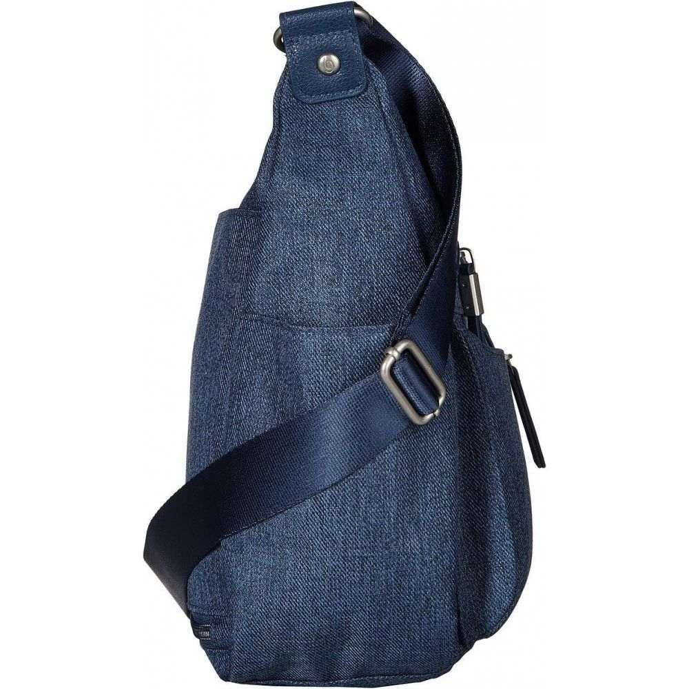 バッガリーニ Baggallini レディース ハンドバッグ リストレット バッグ New Classic 'Heritage' Anywhere Large Hobo with RFID Phone Wristlet Steel Blue9EDW2IHY