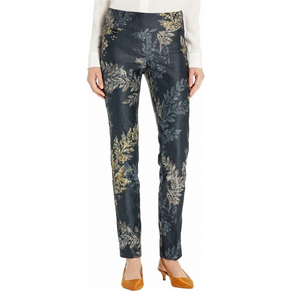 リゼッタ Lisette L Montreal レディース スキニー・スリム ボトムス・パンツ【San Pedro Print Slim Pants】Charcoal