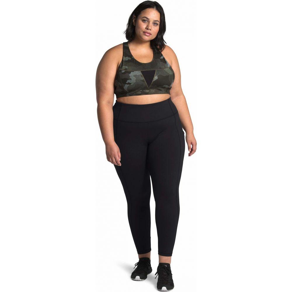ザ ノースフェイス The North Face レディース タイツ・ストッキング 大きいサイズ インナー・下着【Plus Size Motivation Pocket 7/8 Tights】TNF Black