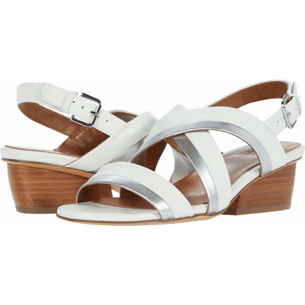 ナチュラライザー Naturalizer レディース サンダル・ミュール シューズ・靴【Cecilia】White Leather