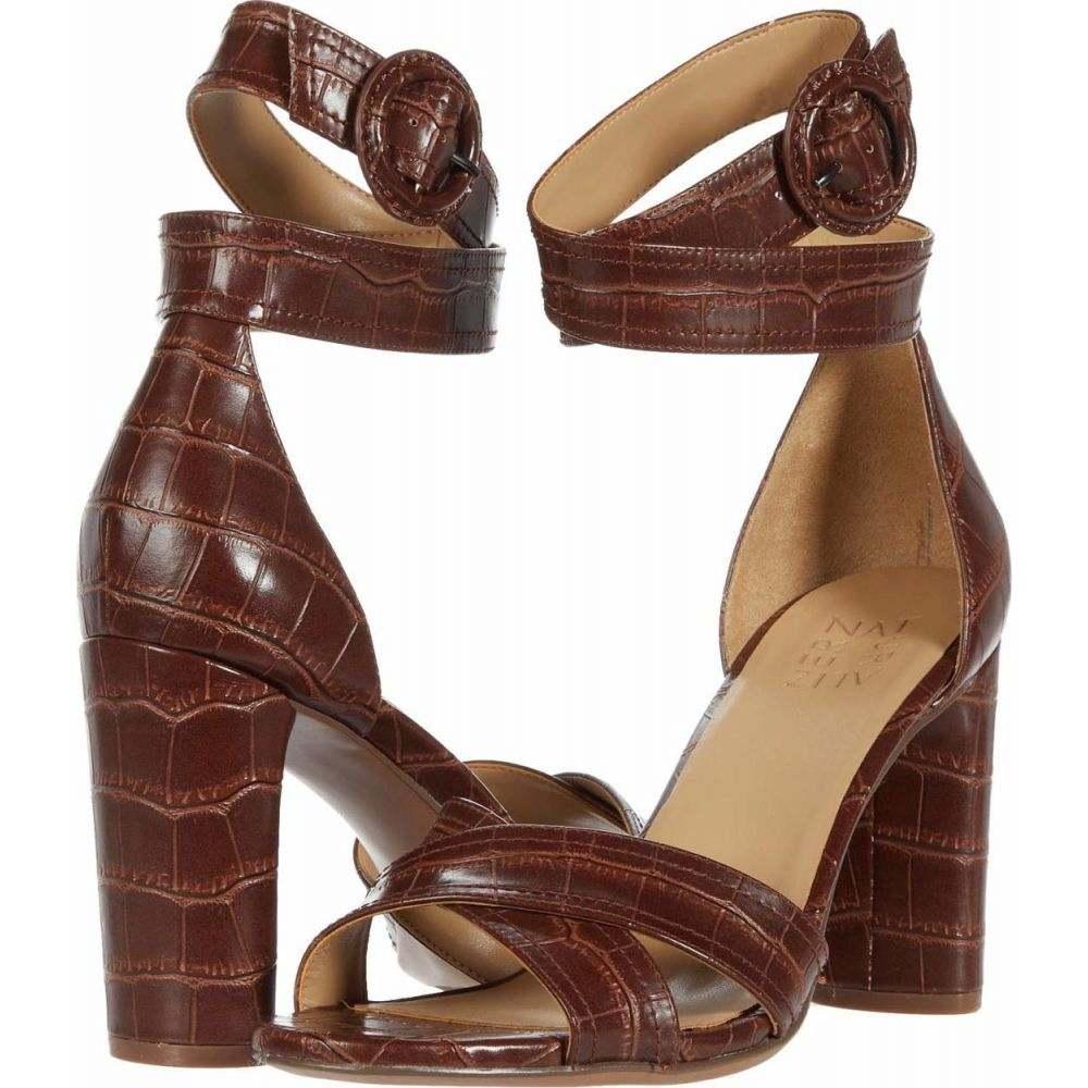 ナチュラライザー Naturalizer レディース サンダル・ミュール シューズ・靴【Rinna】Lodge Brown Croco Print Smooth