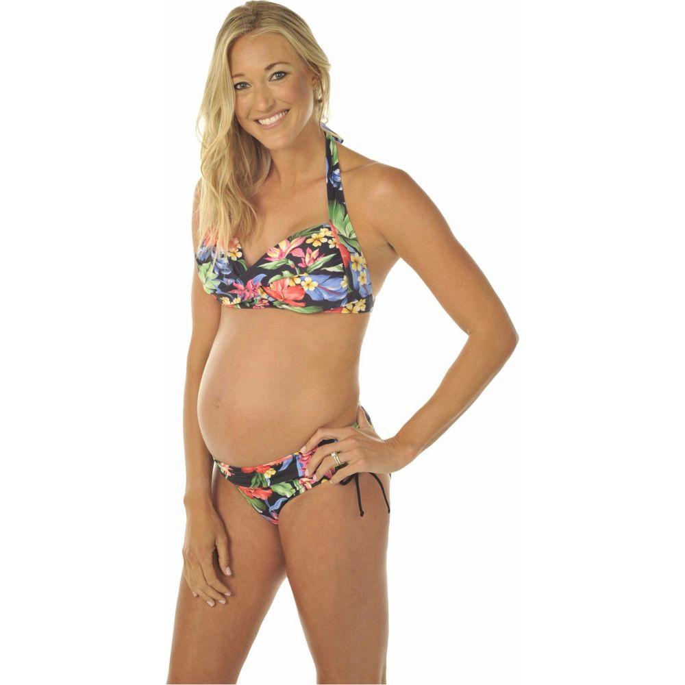 プレーゴ Prego Maternity Wear レディース 上下セット マタニティウェア 水着・ビーチウェア【Hawaiian Bombshell Maternity Bikini】Black