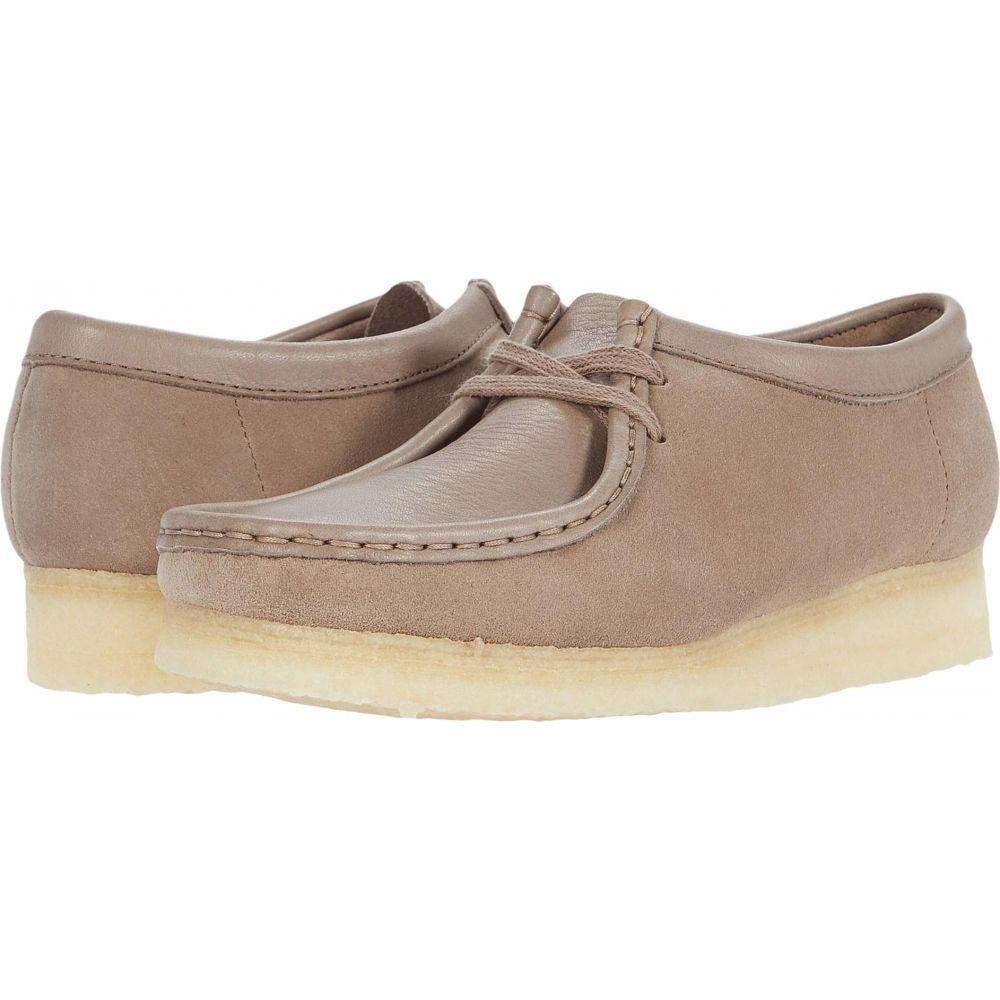 クラークス Clarks レディース ブーツ シューズ・靴【Wallabee】Mushroom Combi