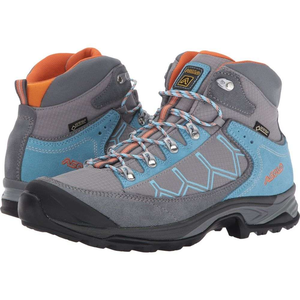 アゾロ レディース ハイキング 登山 シューズ 靴 Falcon 宅配便送料無料 Grigio GV Asolo Stone サイズ交換無料 贈与