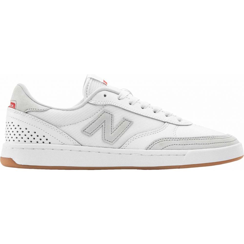 ニューバランス New Balance Numeric レディース シューズ・靴 【NM440】White/White