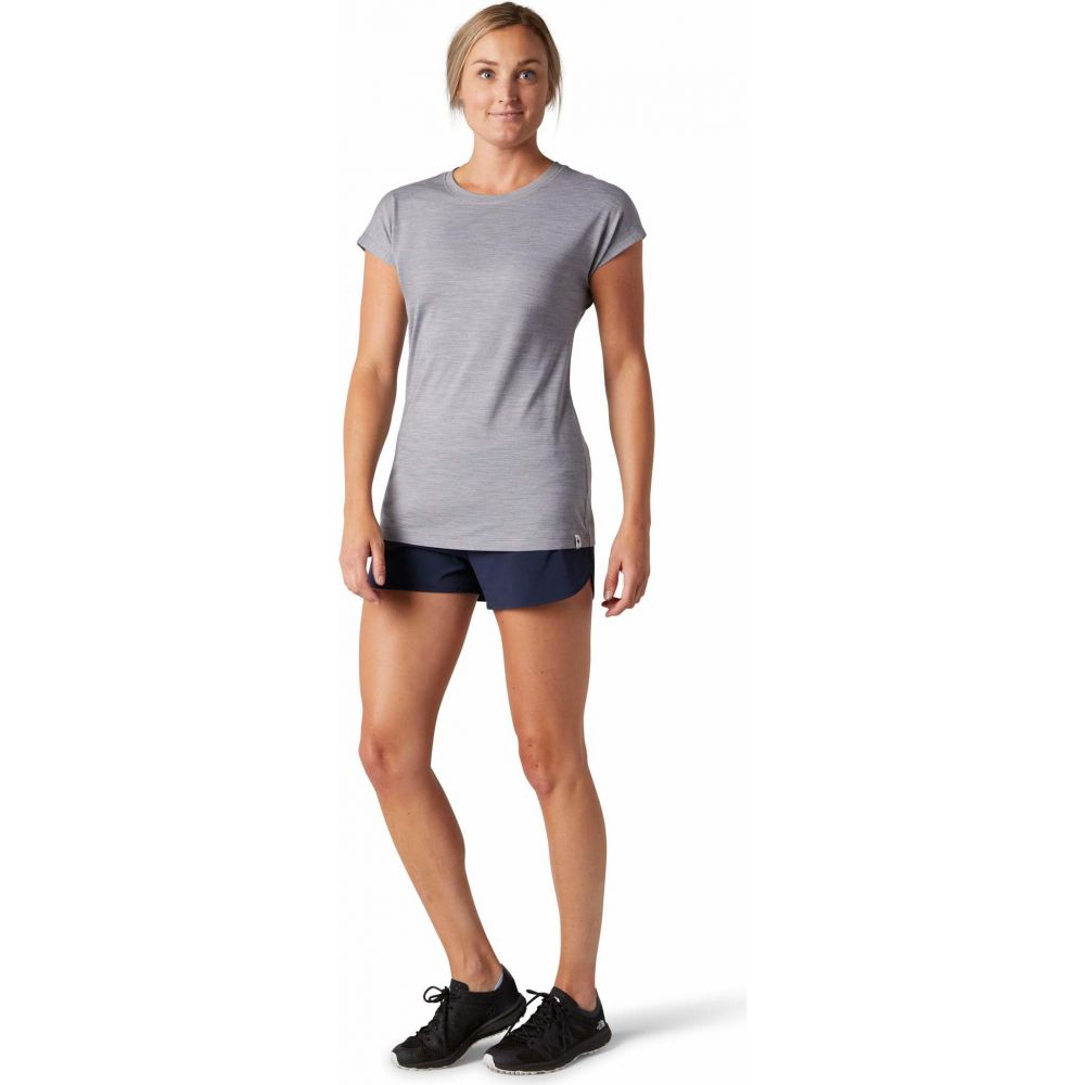 スマートウール Smartwool レディース Tシャツ トップス【Merino Sport 150 Tee】Light Gray Heather
