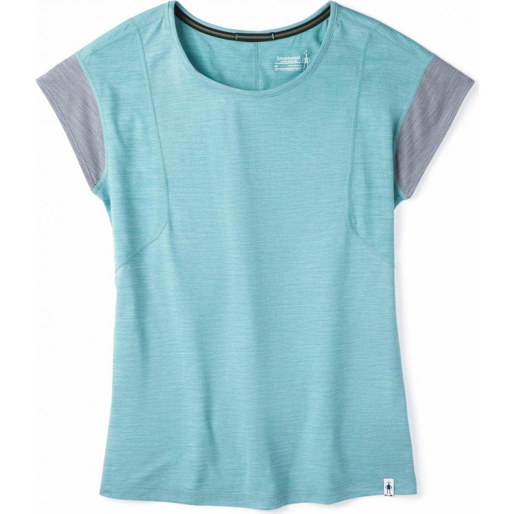 スマートウール Smartwool レディース トップス 【Merino Sport 150 Short Sleeve】Wave Blue Heather