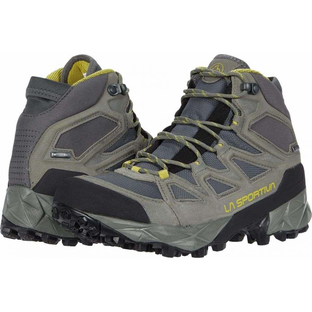 ラスポルティバ レディース ハイキング 登山 売り出し シューズ 靴 Clay 本日限定 サイズ交換無料 GTX La Saber Sportiva Celery