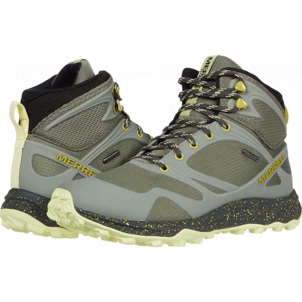 メレル Merrell レディース ハイキング・登山 シューズ・靴【Altalight Mid Waterproof】Lichen