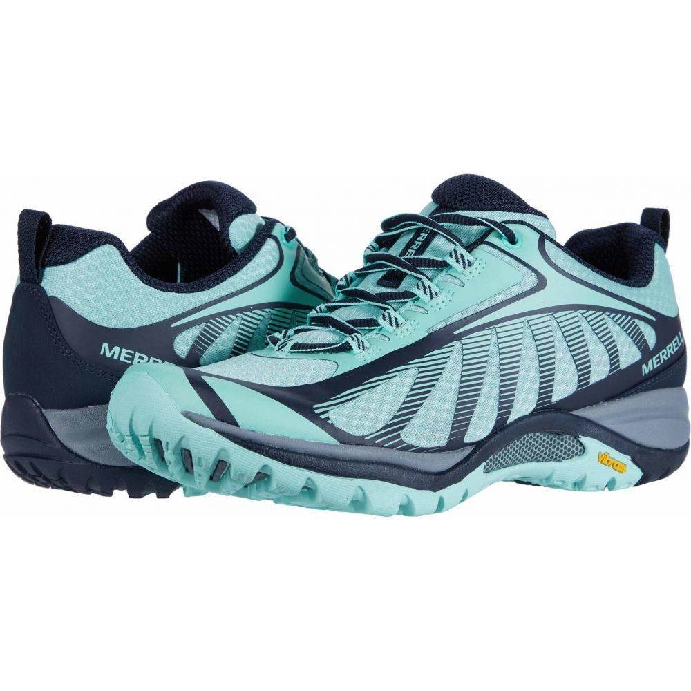 メレル レディース ハイキング 新入荷 流行 登山 シューズ 靴 Navy Wave Edge 3 商品 Siren サイズ交換無料 Merrell