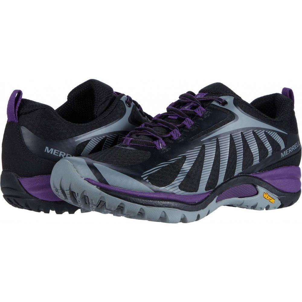 メレル レディース 最新 ハイキング 登山 シューズ 靴 Black Acai Merrell サイズ交換無料 至高 Edge Siren 3
