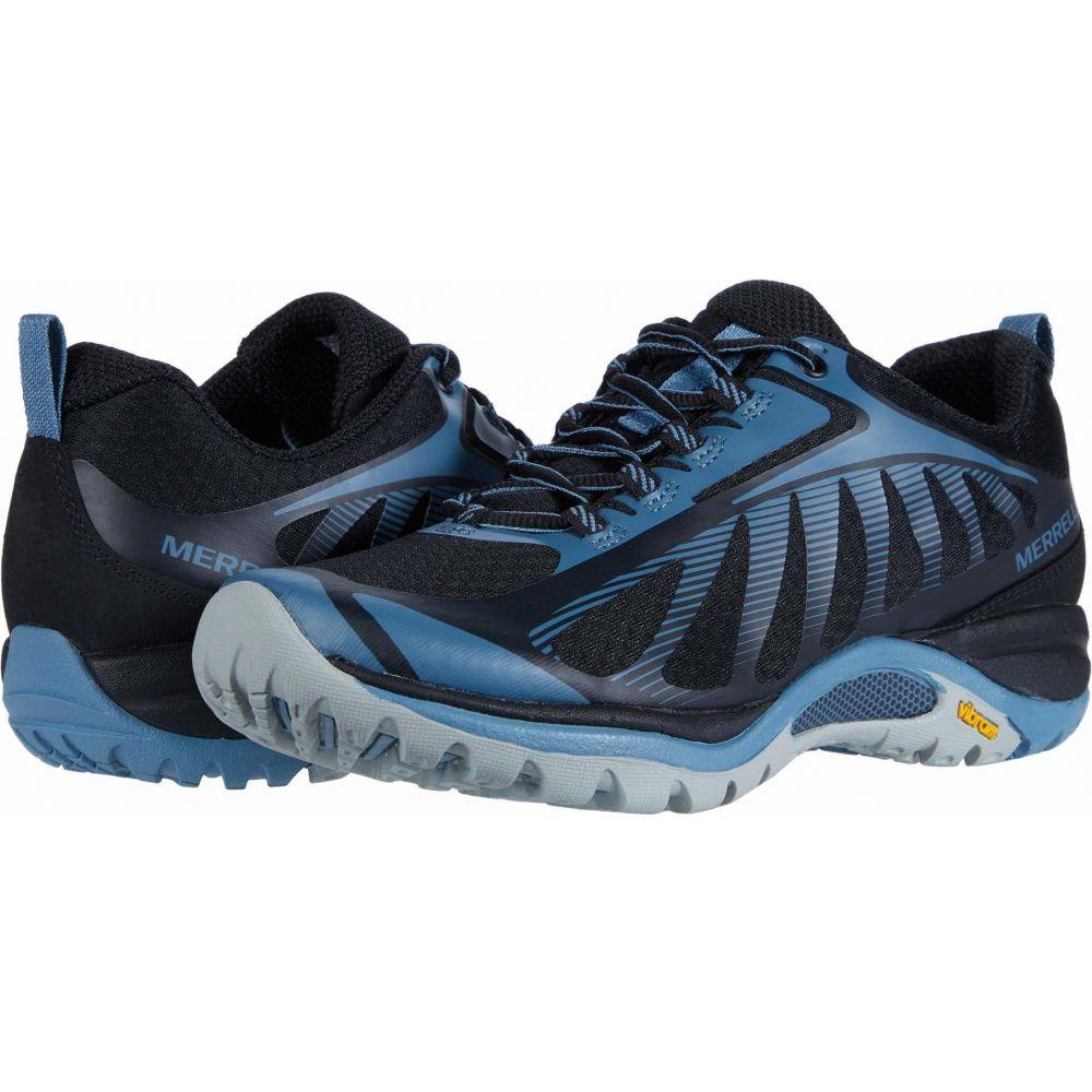 営業 メレル レディース ハイキング 登山 シューズ 靴 Black 未使用品 3 Merrell サイズ交換無料 Siren Edge Blustone
